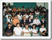 Grupo de aprendices concursantes